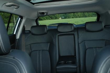Kia Sportage Diesel Test: hinten sitzen