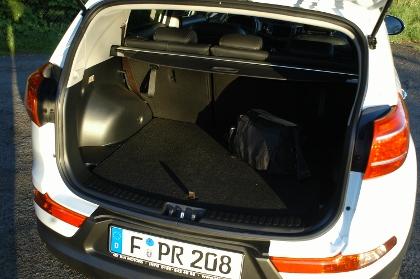 Kia Sportage Diesel: Kofferraum, trunk, boot