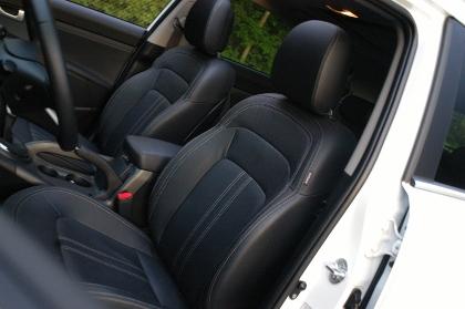 Kia Sportage Diesel Test: Sitze, Vordersitze