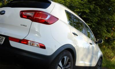 Kia Sportage Diesel 184PS: Heck