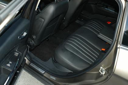 Lancia Delta, hinten sitzen, Test
