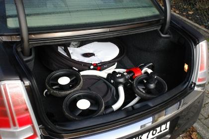 Lancia Thema, Kofferraum, trunk