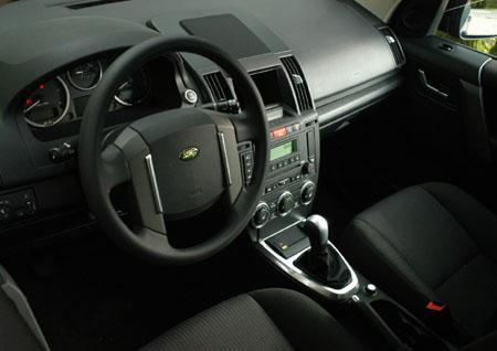 Land Rover Freelander Test, Cockpit