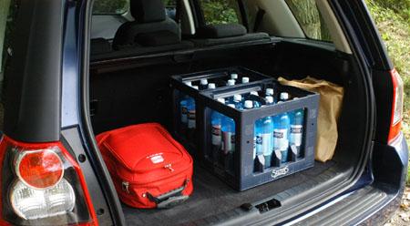 Freelander, Kofferraum, trunk, boot