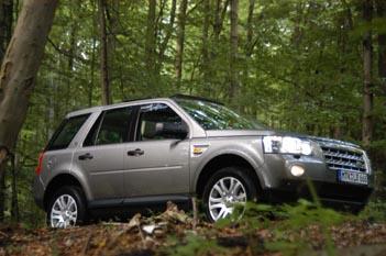 Land Rover, Freelander 4wd Test