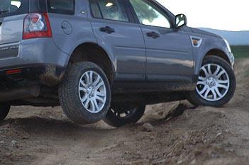 Land Rover Freelander, offroad