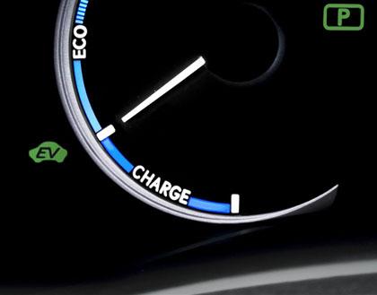 Lexus CT 200h: Batterie