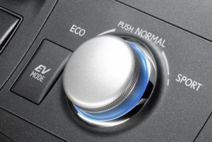 Lexus CT 200h: Sport Schalter