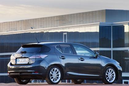 Lexus CT 200h Testbericht: Karosserie