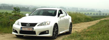 Lexus IS F, 423 PS im Test