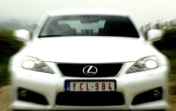 Lexus IS F Test