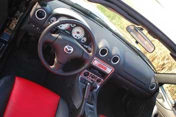 Mazda MX5: cockpit, Instrumente