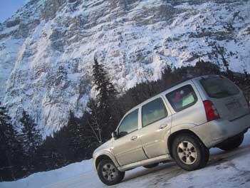 Mazda Tribute Benziner SUV: Test