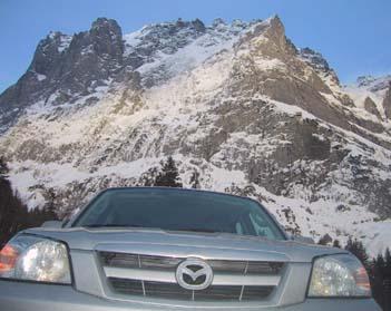 Mazda Tribute: offroad, 4x4