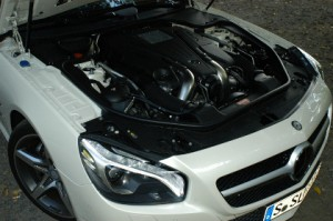 Mercedes 500 SL Test: 435 PS V8