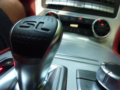 Mercedes SL: Automatik, Schalthebel