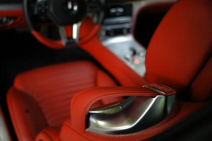 Mercedes SL Test: interior red