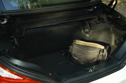 Mercedes SL: Kofferraum, trunk, boot