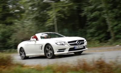 Neuer Mercedes SL im Test