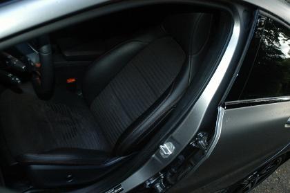 Mercedes A250 Test. Sitze