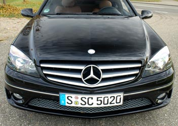 Mercedes CLC Test: 272 PS V6