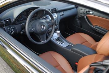 Mercedes CLC Test: Cockpit, Sitze