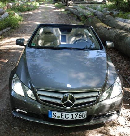 Mercedes E 250 Cabrio Test, 204 PS