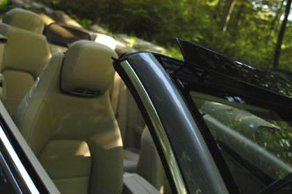 Mercedes E-Klasse Cabrio: aircap