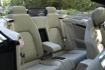 Mercedes E Cabrio: Vier Sitze