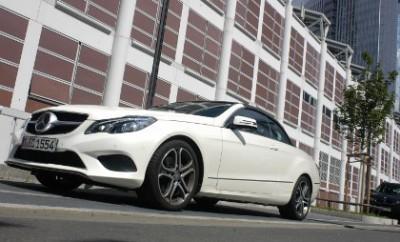 Mercedes E-Klasse Cabrio im Test 2014
