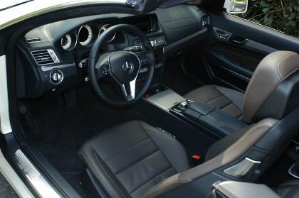 E-Klasse Cabrio: innenraum, interior, Sitze