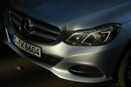 Mercedes E-Klasse Hybrid Test