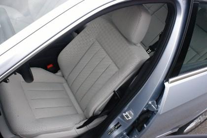 Mercedes E300 Hybrid im Test: Sitze