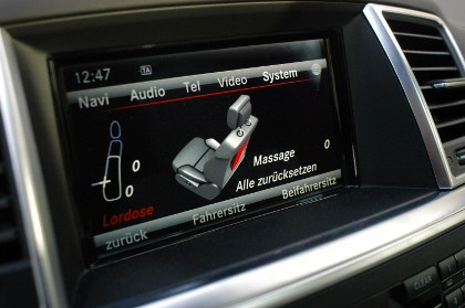 Mercedes GL 350: Massage Sitze