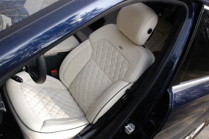 Mercedes GL 350 Test: Sitze