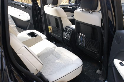 Mercedes GL 350: hinten sitzen