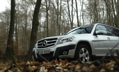 Mercedes GLK 350 Diesel Test