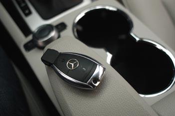 Mercedes GLK 350 Test: interior