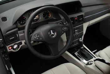 Mercedes GLK Test: Cockpit