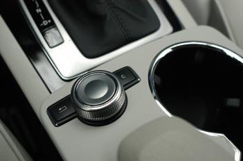 Mercedes GLK Test: Drehregler
