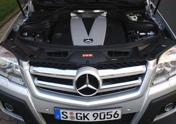 Mercedes GLK: V6 Dieselmotor 272 PS