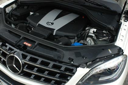 Mercedes ML350 Test: Dieselmotor