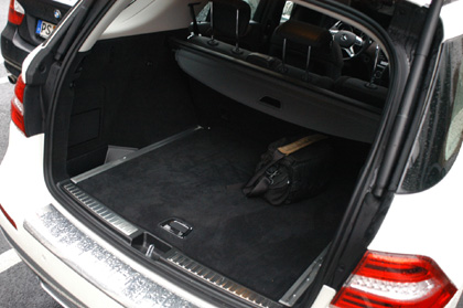 Mercedes ML Test: Kofferraum, trunk