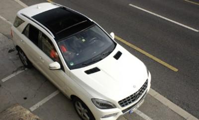 Mercedes ML350 Test