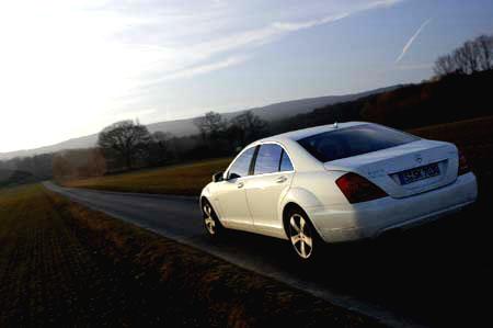 Mercedes S400 Hybrid Test