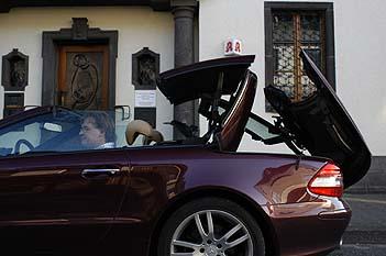 Mercedes SL 350: Dach, roof