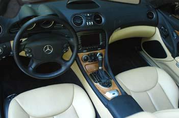 Mercedes SL 350: Innenraum