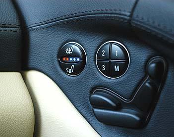 Mercedes SL 350 Test: Interior