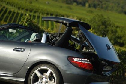 Mercedes SLK 200 Test: Dach