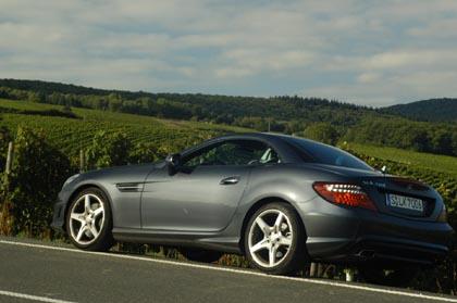 Mercedes SLK 200 Test: geschlossen